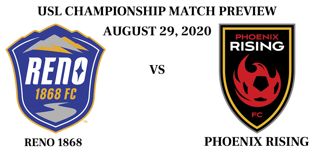 Reno 1868 vs Phoenix Rising 2020
