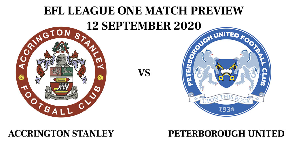 Accrington vs Peterborough 2020