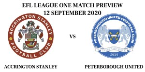 Accrington vs Peterborough 2020