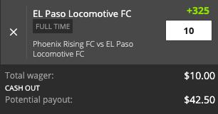 El Paso payout