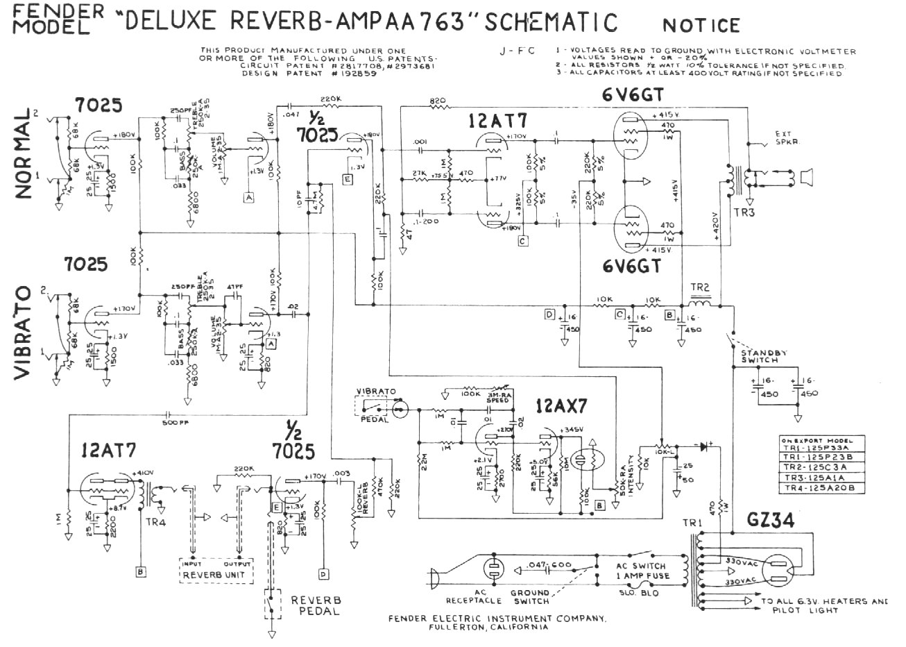 hight resolution of blackface deluxe reverb