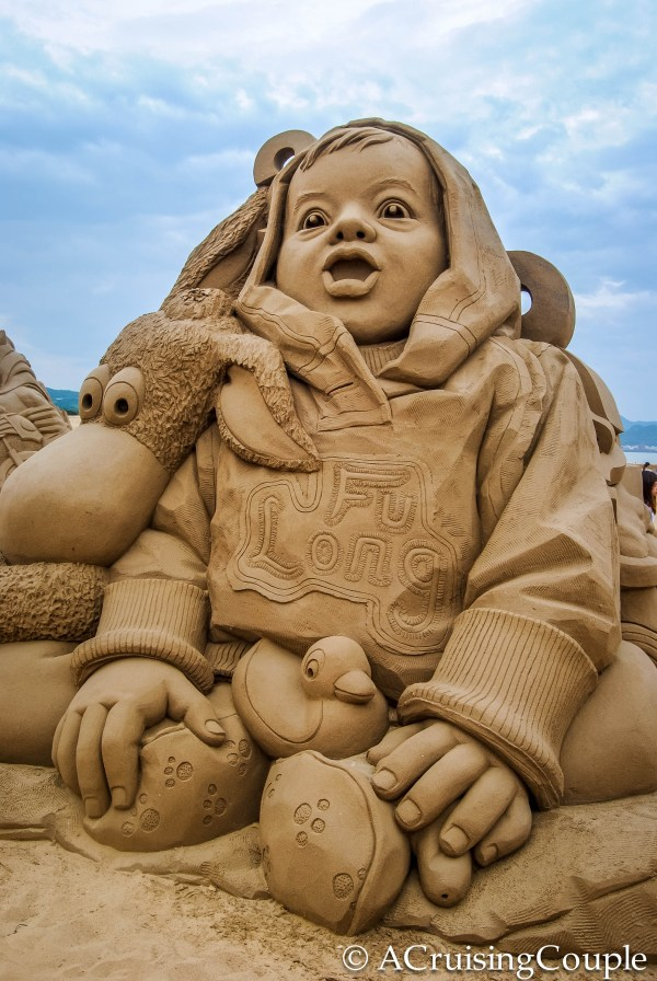 Beach Sand Sculpture Art