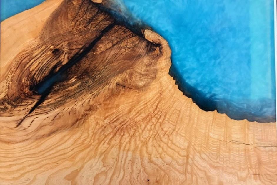 pengecoran kayu epoksi