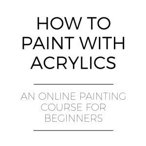 Learn to Paint Online how to paint with acrylics an online course acrylicmuse