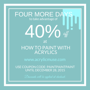 how to paint with acrylics 40percent off acrylic muse
