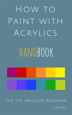 Handbook now on iTunes how to paint with acrylics handbook for the absolute beginner