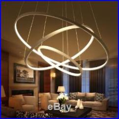 Led Ceiling Light Living Room Houzz Area Rugs Modern Lights Acrylic Stainless Bar Chandelier Lamp Home