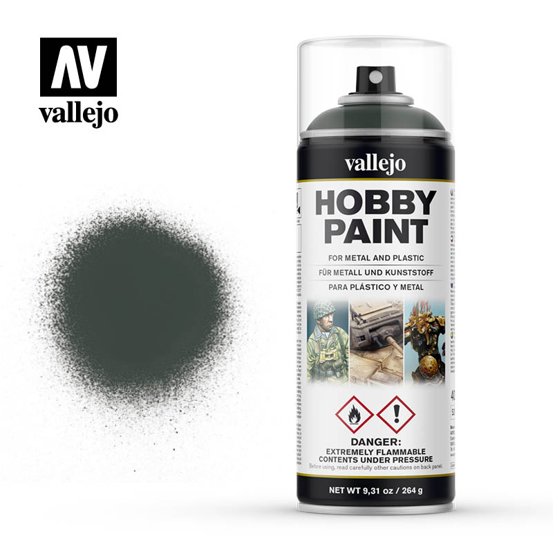 Vallejo Hobby Paint Spray Dark Green