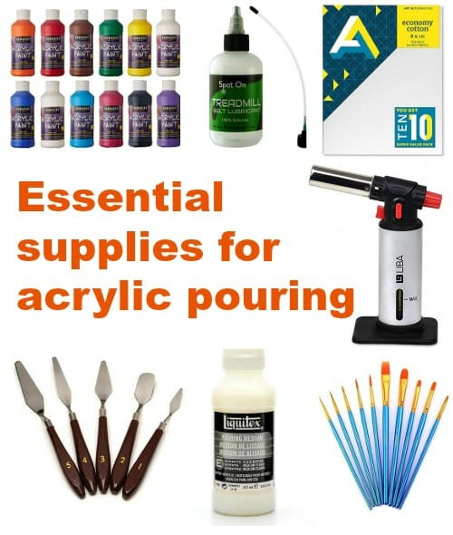 Everything you need to get started in acrylic pouring art and why you need it