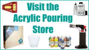 Acrylic pouring painting store opens online. Get all of your acrylic pouring and flow painting supplies at the acrylic pouring store