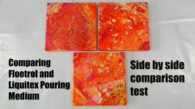 Comparison between Liquitex Pouring Medium and Floetrol for acrylic pouring and flow painting