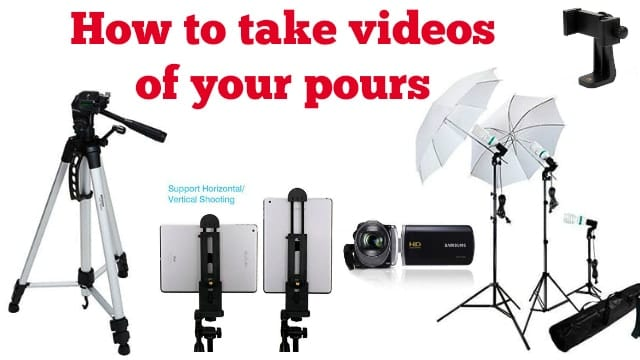 What equipment do you need and how do you set it up if you want to take videos to upload to youtube.