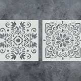GSS Designs Pack of 2 Stencils Set