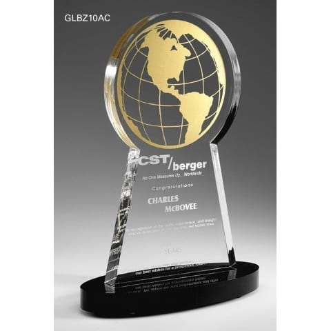 glbz10 corporate acrylic globe
