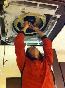 天井埋め込みエアコンクリーニング
