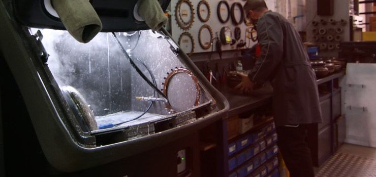 reconstruccion de convertidores de par