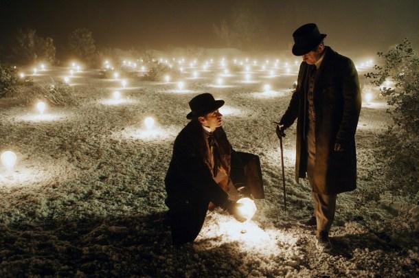 (L-R) Hugh Jackman, Andy Serkis