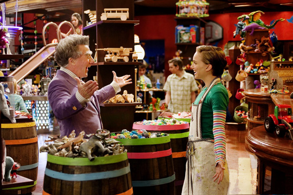Mr. Magorium's Wonder Emporium movie image Dustin Hoffman and Natalie Portman