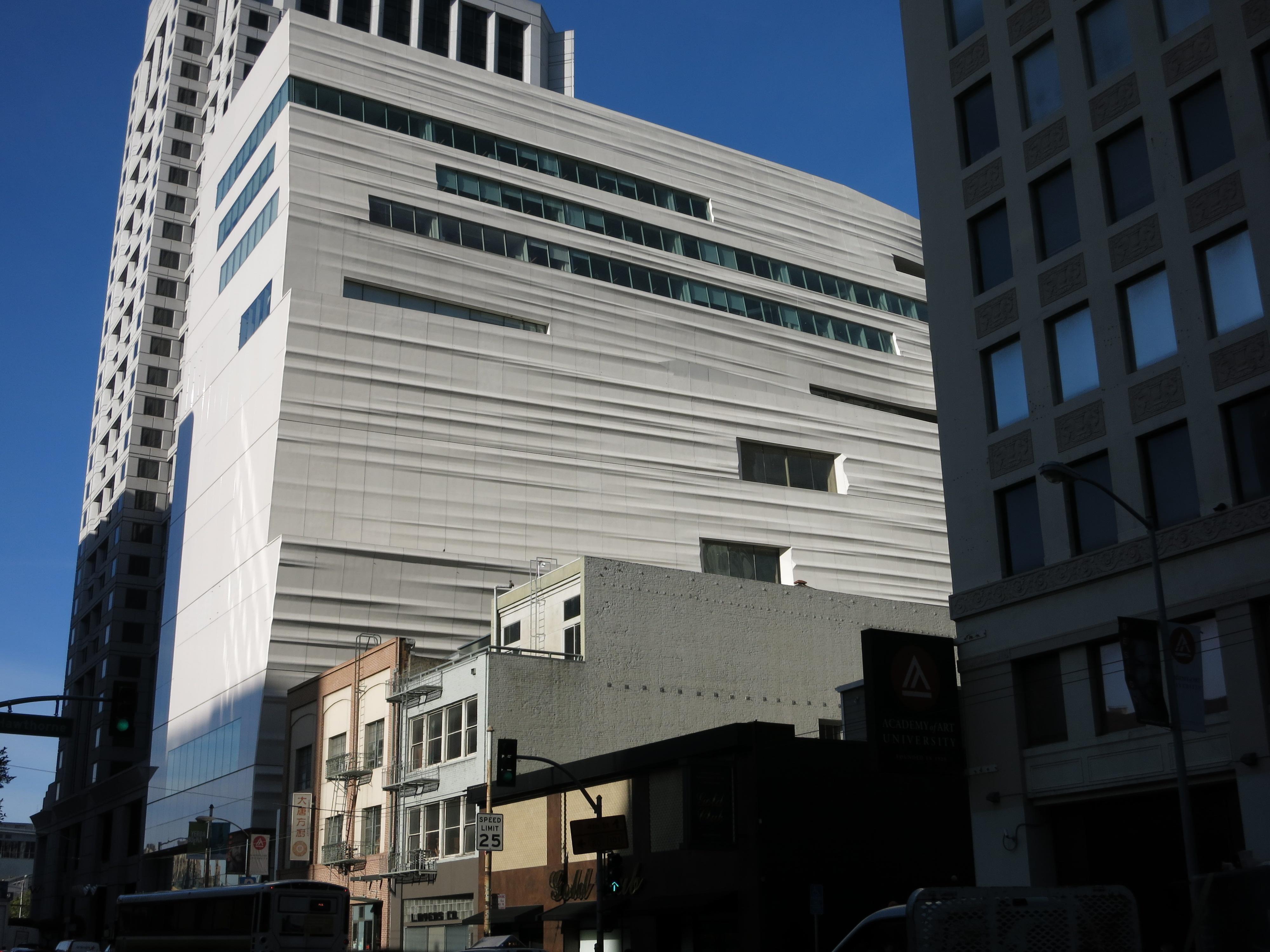 San Francisco Museum Of Modern Art Aluminum Curtainwall