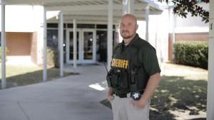 School Resource Deputy Davis - on duty