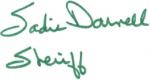 Sheriff Sadie Darnell - Signature