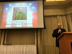 PIO Forgey at the WSKY Valor Awards