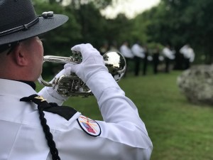 Law Enforcement Memorial bugler