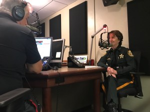 Sheriff Darnell on the Bob Rose Show