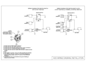 Club Car Solenoid Wiring Diagram Ignition Switch Wiring Diagram Acs Products Company