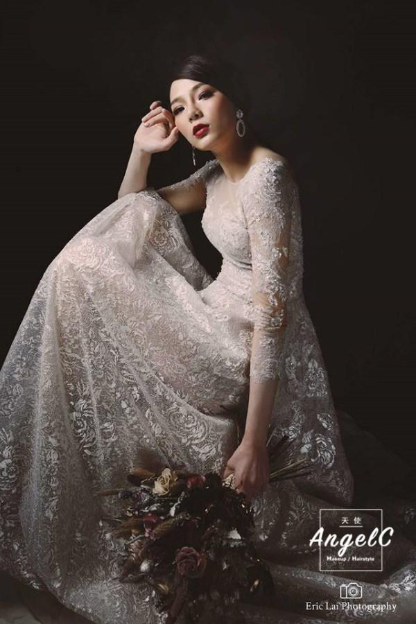 新娘秘書 台北新秘 個人寫真 韓風新娘 時尚造型 乾燥捧花 新娘捧花