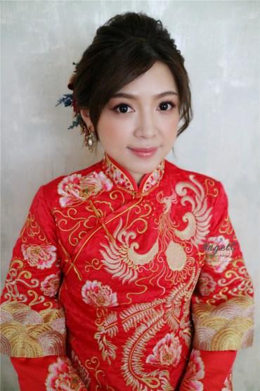龍鳳掛 / 秀禾 / 中式造型 / 編髮 盤髮 /新娘造型 / 新娘秘書 / 推薦新秘 / 台北新秘 / 新娘髮型