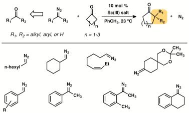 Catalytic Asymmetric Ketone Homologation. Development of