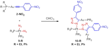 Report: A New Method to Link Metal Ions via Cycloaddition