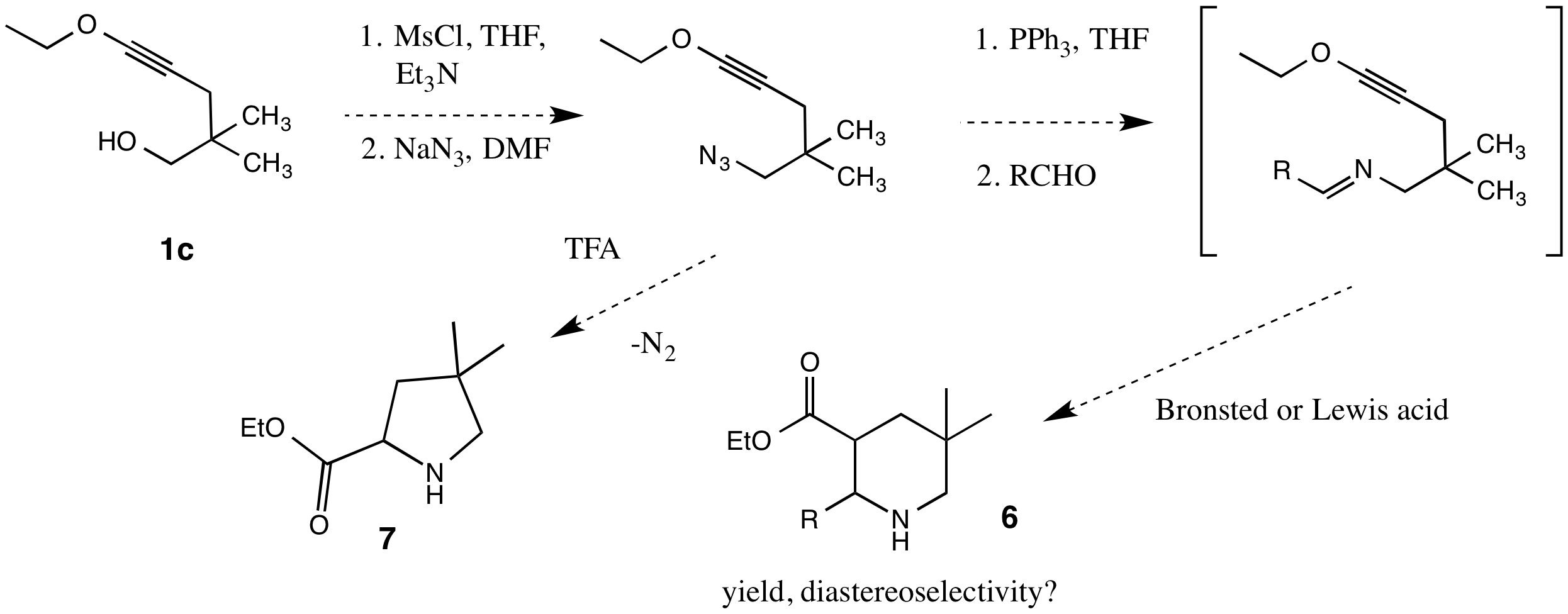 Report: Intramolecular Cycloaddition Reactions of Electron