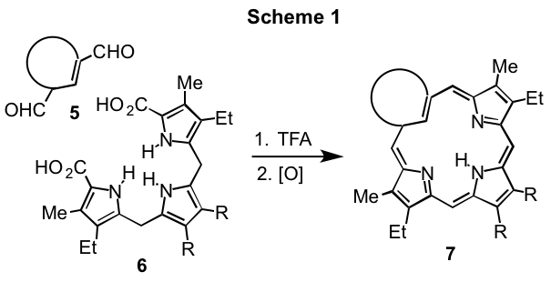 Report: Synthesis of Azaannulenes Related to the