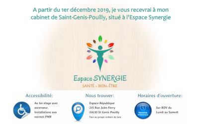 Nouveau cabinet à Saint-Genis-Pouilly