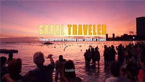 grrrltraveler on ROKU TV, travel videos on Roku TV