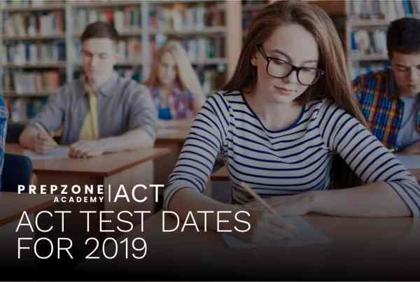 ACT Test Dates 2019