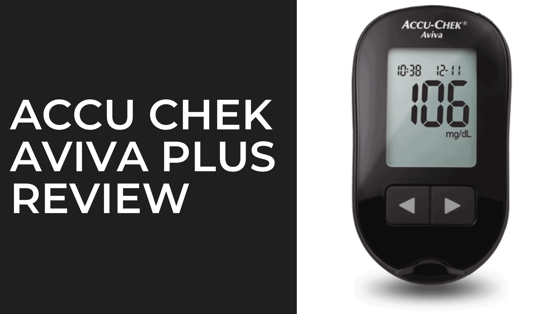 Accu Chek Aviva Plus Review