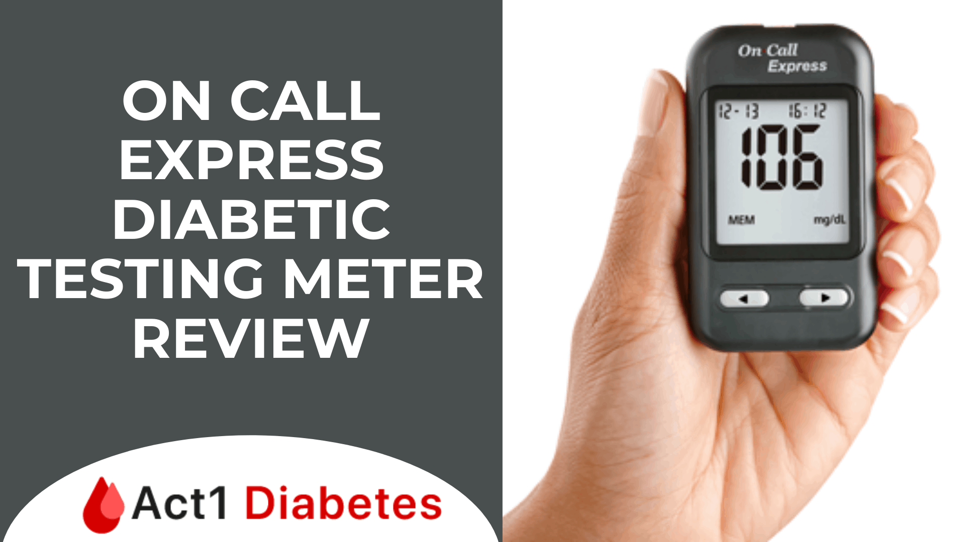 On Call Express Diabetic Testing Meter Review