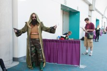 The Mandarin threatens the convention center with destruction.