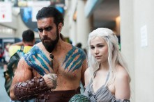 Khal Drogo and Khaleesi of 'Game of Thrones' were favorites among attendees.