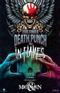 Five Finger Death Punch + In Flames + Of Mice & Men