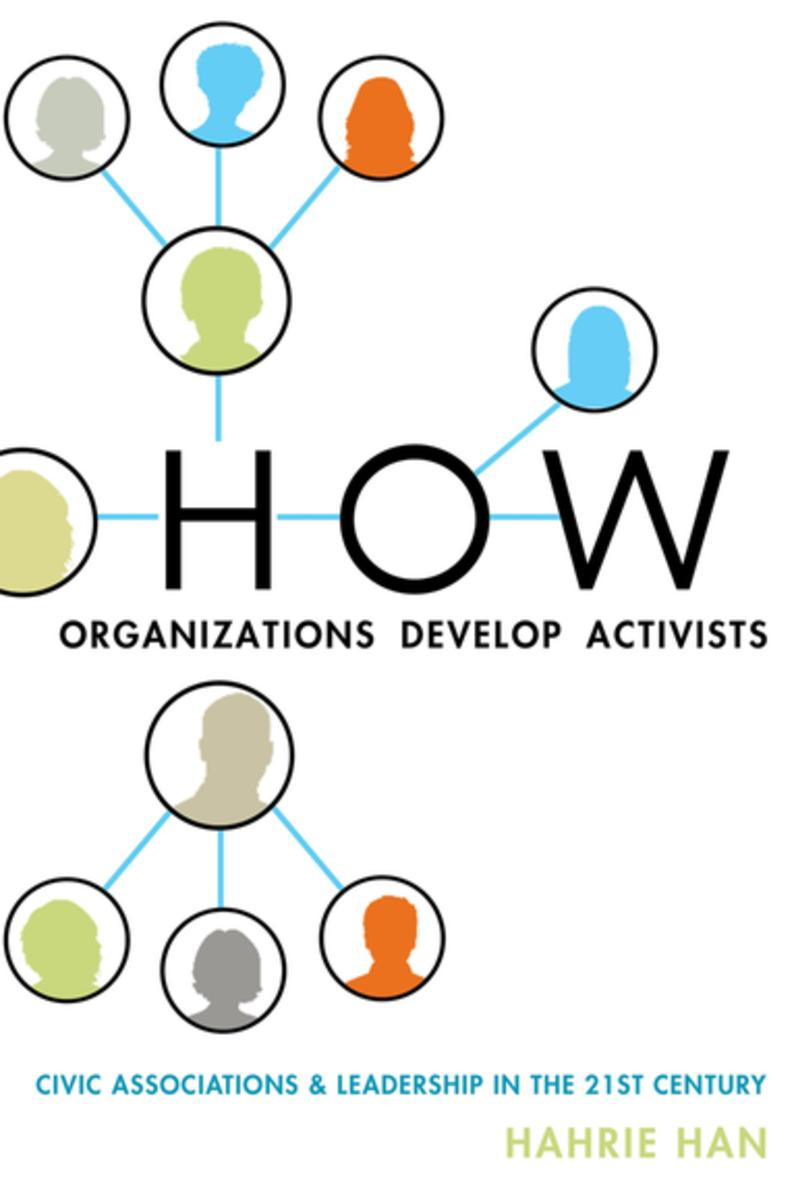 How Organisations Develop Activists: Hahrie Han. Image: Kobo.com