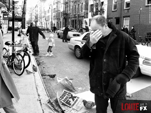 Louis C.K. in Louie on FX Networks