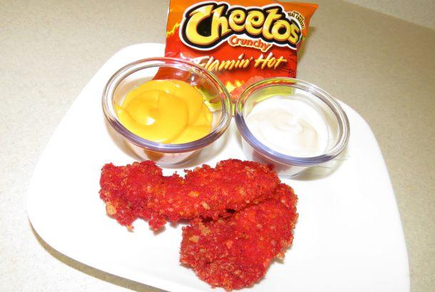 Flamin Hot Cheetos Fried Chicken Recipe