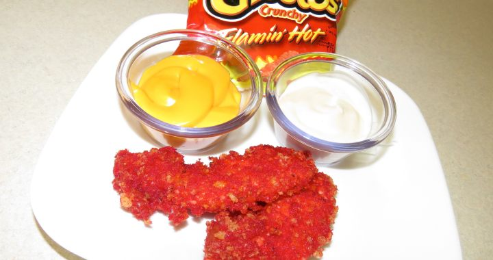 Flamin' Hot Cheetos Fried Chicken [RECIPE]