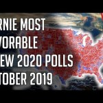 4 New Polls - Bernie Most Favorable - Democratic 2020 Presidential Primary Polls October 2019 19