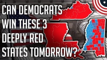 My Election Predictions - Can Democrats Win Kentucky, Louisiana, Mississippi Governor Races? 13