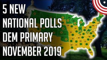 Bernie Crushing on Policy Support, 5 New National Democratic Primary Polls! - November 2019 12